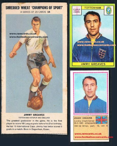 Jimmy Greaves BARGAIN triple